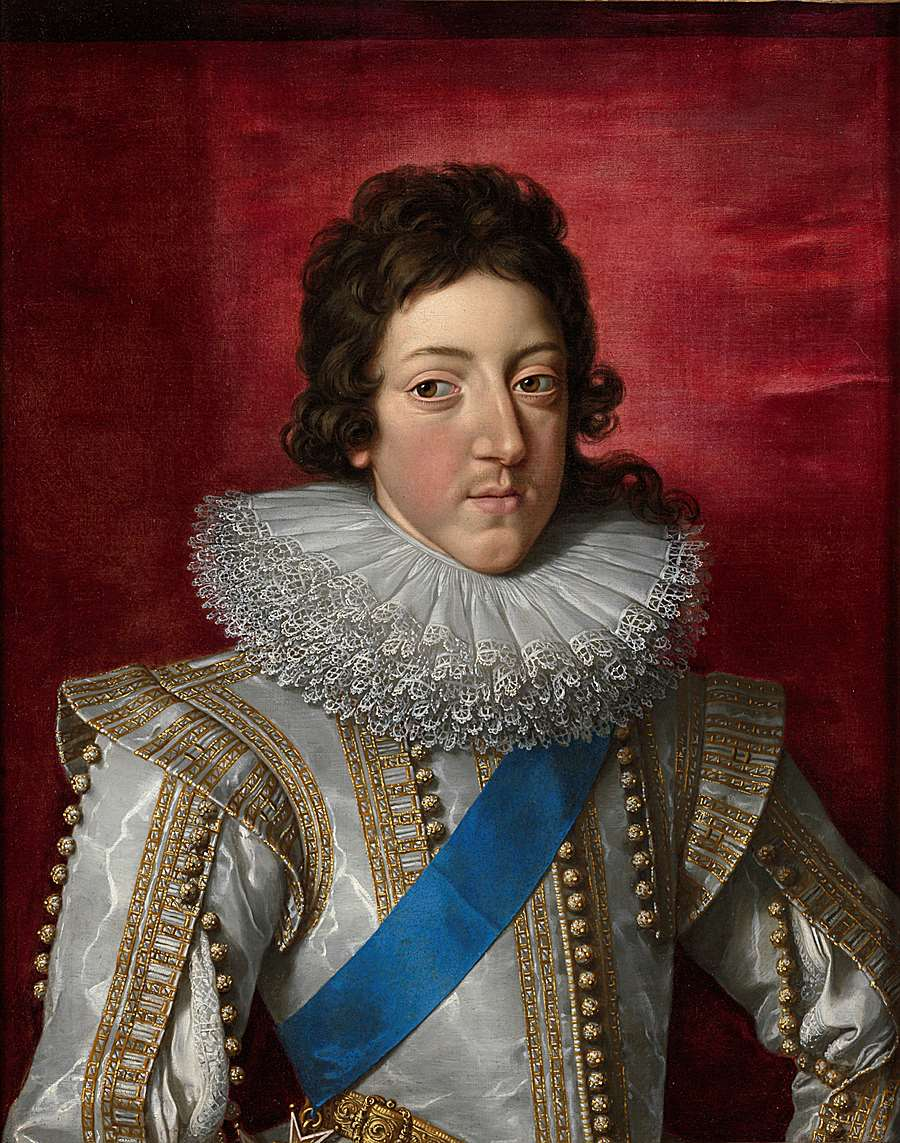 Louis XIII with the Sash and Badge of the Order of Saint Esprit