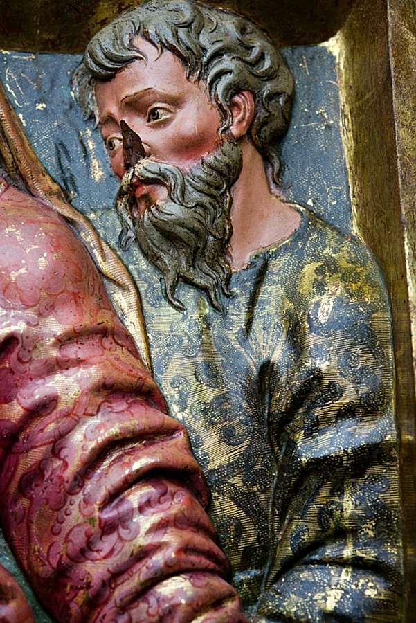 Prophet Balaan or Nataan with king Balaac or David