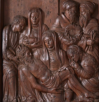 A newly discovered Lamentation relief by Roque Balduque