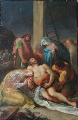 Notes on a Lamentation of Christ by Francisco de Goya y Lucientes