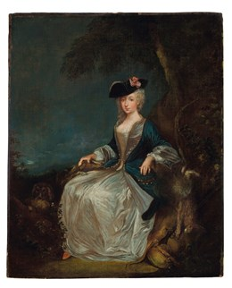 A Watteau for Auction at Christie's, New York