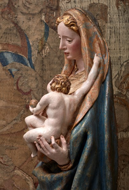 A newly  discovered Our Lady and Child Jesus by Juan Bautista Vázquez  el Viejo