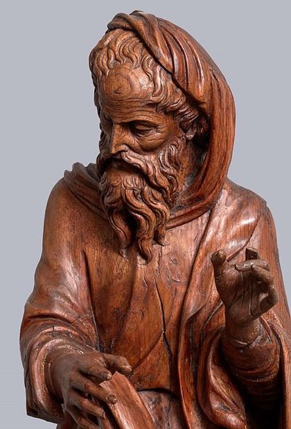 A sculpture  by Gabriel Joly  newly revealed by the IOMR