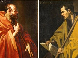 An Apostle by Luis Tristan: relationship with Velazquez's  Saint Thomas, El Greco, Ribera and the new Italian naturalistic currents